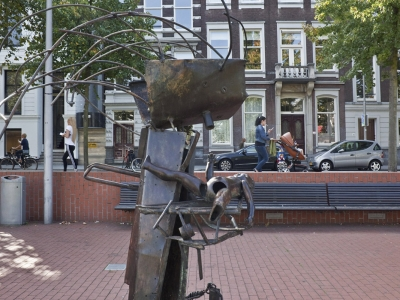 34 2 Westersingel, Carel Visser, Mother and Child - photo Otto Snoek