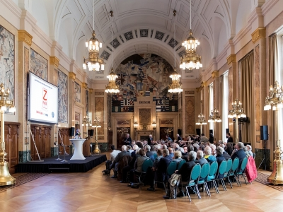 Loeki Metz and the Joods Monument presentation - photo Aad Hoogendoorn (3)