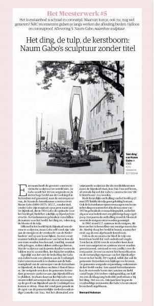 (c) Bernard Hulsman, NRC Handelsblad