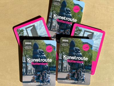 Map-Art Route-Rotterdam
